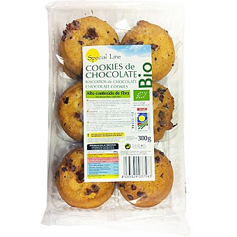Special Line Cookies de chocolate bio Estuche 300 g