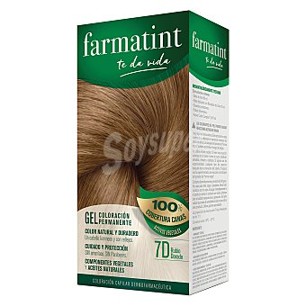 Farmatint Crema 7D rubio dorado ftt 120 ml