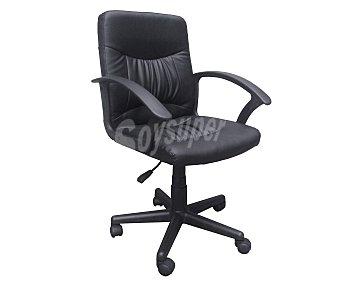 Productos Económicos Alcampo Sillón de escritorio color negro medidas: 57x57x87-99 centímetros Mod. 3004378 1 unidad