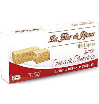 Flor Turron de jijona almendras s/az 200 g