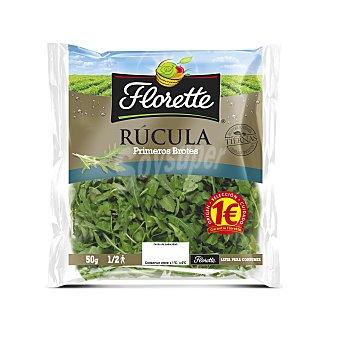 FLORETTE Primeros brotes rúcula bolsa 50 g
