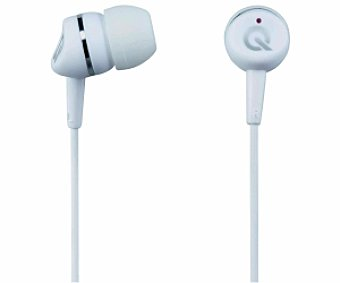 Qilive Auriculares tipo Intrauricular Blanco, con cable 27E7039