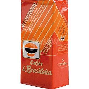 la Brasileña Café Descafeinado Molido Paquete 250 g