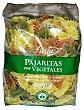 Pajaritas pasta vegetal Paquete 500 g Hacendado