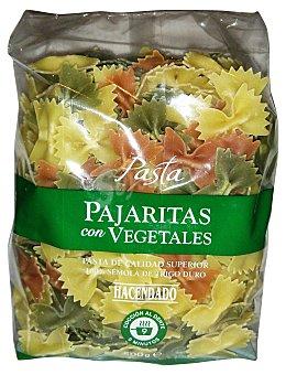 Hacendado Pajaritas pasta vegetal Paquete 500 g