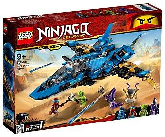 LEGO Ninjago 70668 Juego de construcción Caza Supersónico de Jay con 490 piezas, Ninjago 70668 lego.