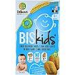 Galletas infantiles ecológicas con aroma a manzana sin azúcares añadidos desde 6 meses sin aceite de palma 6x2 unidades paquete 150 g Biskids