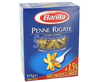 Barilla Pasta de Trigo Penne Rigate 500g