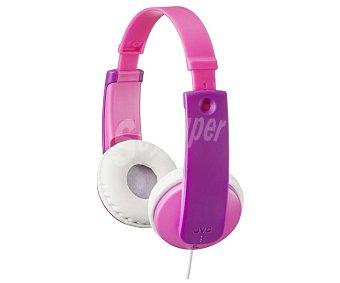 Jvc Auriculares de diadema HA-KD7-P, para niños para niños