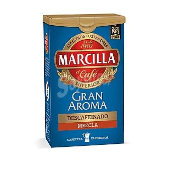 Marcilla Gran Aroma café molido descafeinado mezcla intenso  paquete 200 g