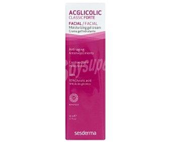 ACGLICOLIC Classic Forte Gel facial hidratante antienvejecimiento 50 Mililitros