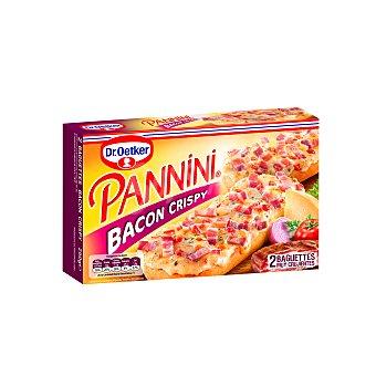 Pannini Dr. Oetker Bacon crispy 2 baguettes estuche 250 g Estuche 250 g