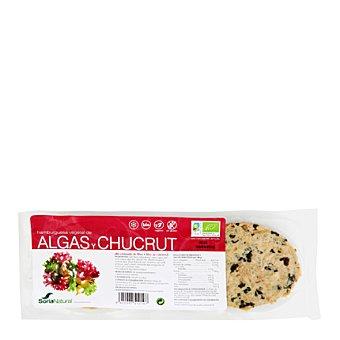 Soria Natural Hamburguesa de tofu ahumada con algas ecológica 160 g