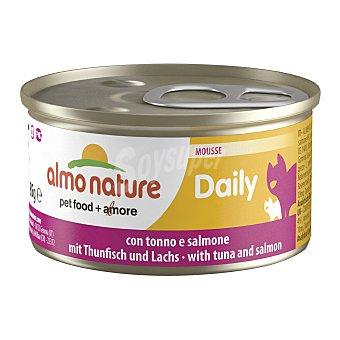 ALMO NATURE Daily Comida húmeda para gatos adultos Almo Nature Daily mousse atún y salmón 85 gr 85 gr