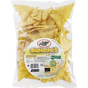 EL GRANERO Bionachos de maíz y queso Bolsa 125 g