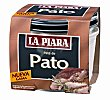 Paté de pato sólo natural Tarro 100 g La Piara