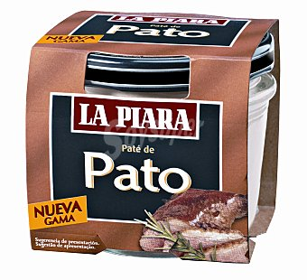La Piara Sólo Natural Paté de pato  Tarro 100 g