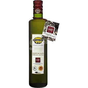 CORDOLIVA aceite de oliva virgen extra Montoro Adamuz  botella 500 ml