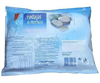 Auchan Rodajas de Merluza Grande 600 gramos