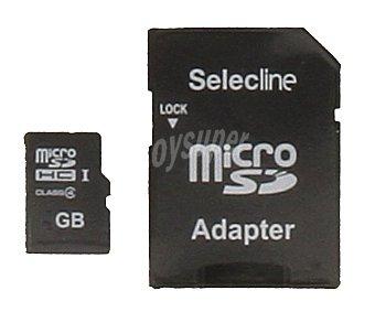 SELECLINE Tarjeta de memoria microsdhc 8GB clase 10 1 unidad