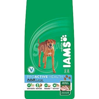 IAMS PROACTIVE NUTRITION ADULT Alimento especial para perros adultos de 1-6 años de raza grande Bolsa 12 kg