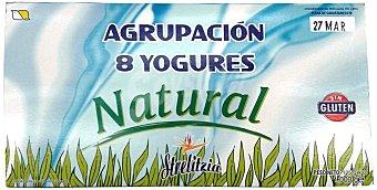 STRELITZIA Yogur natural Pack 8 x 125 g - 1 kg