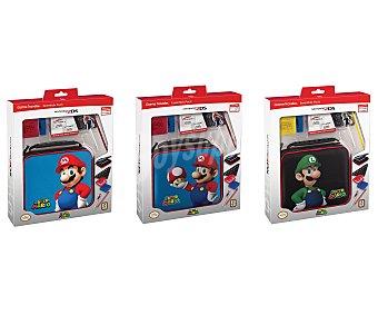 Nintendo Pack de accesorios para Nintendo 2 Ds con diseño oficial Súper Mario 1 unidad