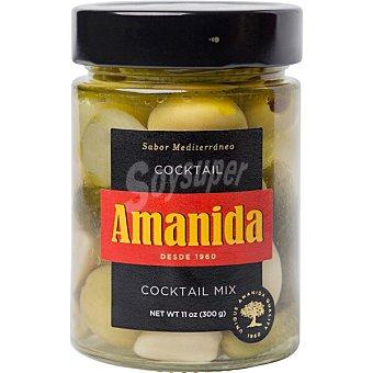 Amanida Coctel de aceitunas Sabor Mediterráneo tarro 300 g tarro 300 g