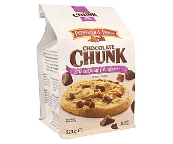 Pepperidge Farm Galletas con pepitas de chocolate negro doble chunk 204 g