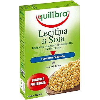 EQUILIBRA Lecitina de soja 32 perlas Envase 34 g