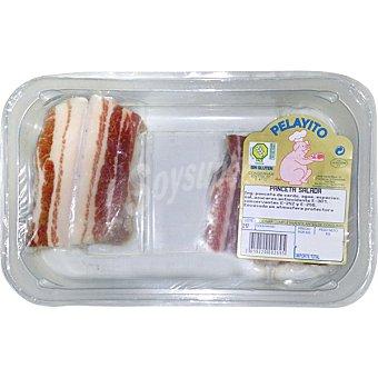 PELAYITO Panceta salada de cerdo peso aproximado Bandeja 500 g