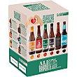 Pack Degustación cervezas artesanas 6 variedades (La Sagra Ipa, Trigo, Premium, Madrí, Burro de Sancho, Senador Volstea) 6 botellas 33 cl La Sagra