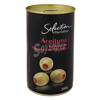 Carrefour Selección Aceituna rellena pimiento piquillo 150 g