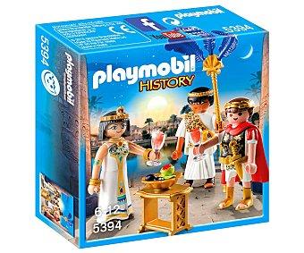 Playmobil Escenario de juego Cesar y Cleopatra, History 5394 playmobil