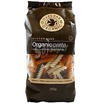 DOVES FARM ORGANIC Hélices tricolor de arroz integral sin gluten Envase 250 g