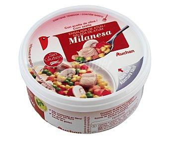 Auchan Ensalada de atún a la milanesa 250 gramos