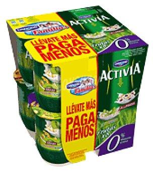 Vitalínea Danone Yogur 4 muesli + 4 cereales con kiwi Pack de 8x125 g
