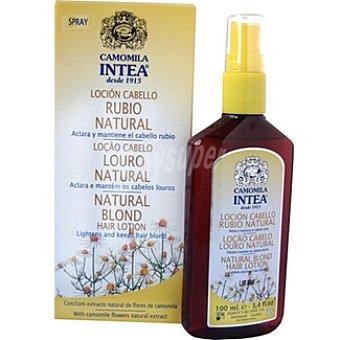 Intea Champú loción rubio natural aclara el cabello rubio Frasco 100 ml