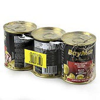 Baymar Aceitunas rellenas anchoa 3x50g