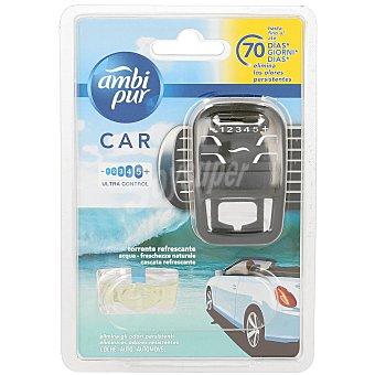 AmbiPur Ambientador coche aroma agua Aparato + recambio