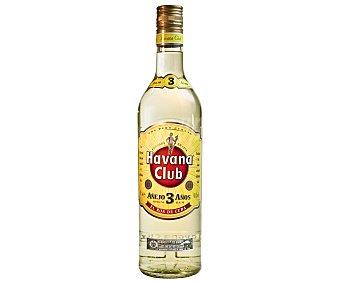 Havana Club Ron añejo 3 años Botella 70 cl