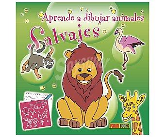 Panini Cuaderno de actividades Aprendo a dibujar animales salvajes, incluye plantillas. Género: infantil, actividades. Editorial Panini. Descuento ya incluido en pvp. PVP anterior: