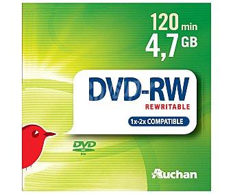 Auchan DVD RW 5 unidades