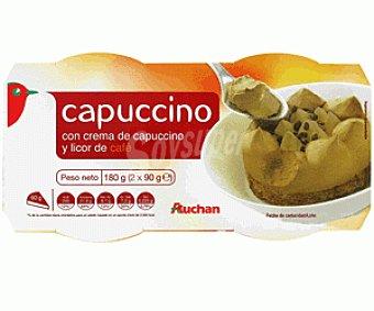 Auchan Capuccino 2 Unidades de 90 Gramos