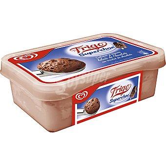 Frigo Helado de chocolate con trocitos de chocolate Superchock Tarrina 1 l