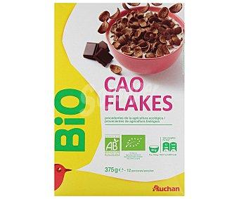 Auchan Copos de trigo con chocolate 375 g