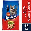 Alimento para gatos mix buey Bolsa 1,5 kg Brekkies Affinity