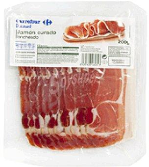 Carrefour Discount Jamón curado en lonchas 200 g