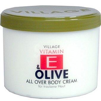 VILLAGE Crema corporal con aceite y vitamina E Tarro 500 ml