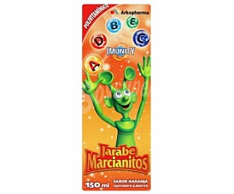 MARCIANITOS Jarabe vitaminas y minerales 150 Mililitros